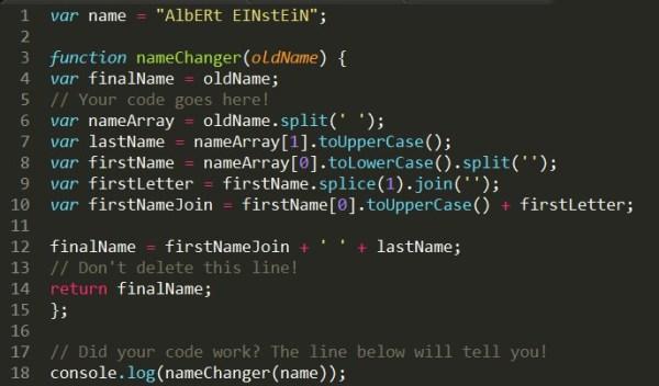 JavaScript String Manipulation Challenge | C'est mon voyage