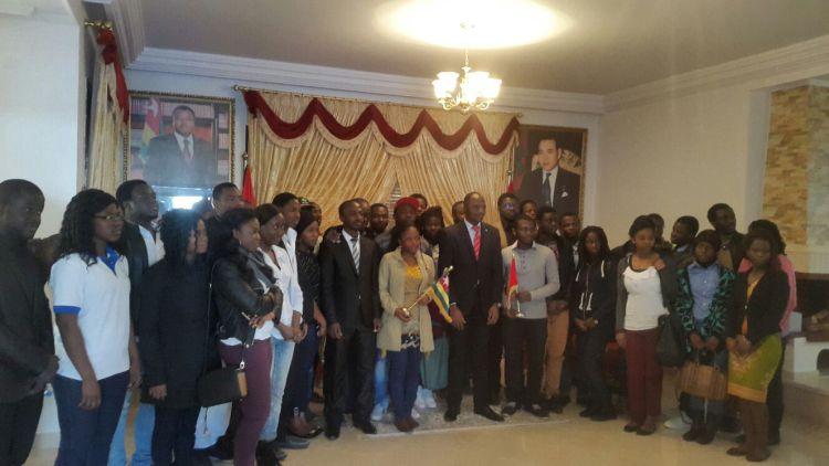 Rencontre etudiants - ambassade