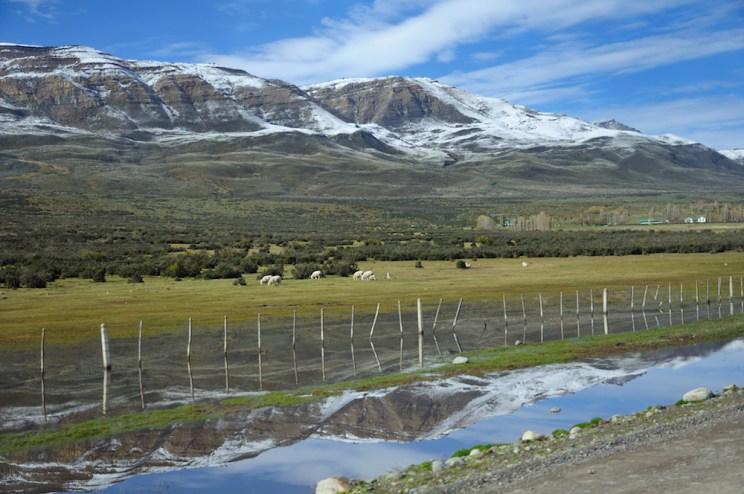 Cesta k Perito Moreno