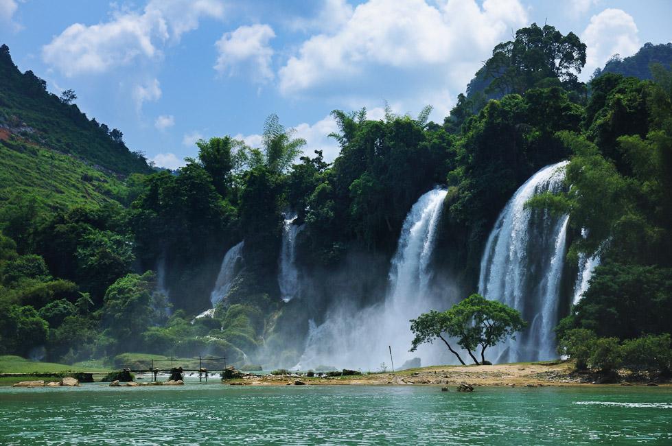 Detianské vodopády
