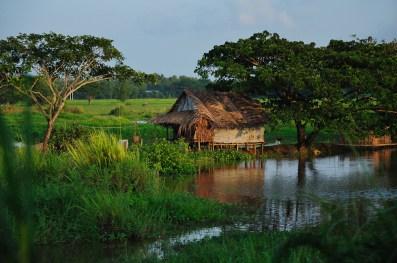 Cestou z Yangonu do Baganu