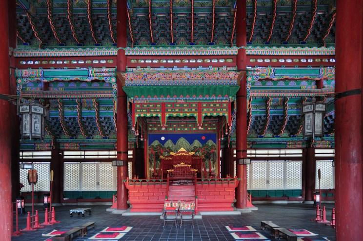 Soul   Palác Gyeongbokgung