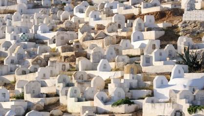 Fes   Hřbitov