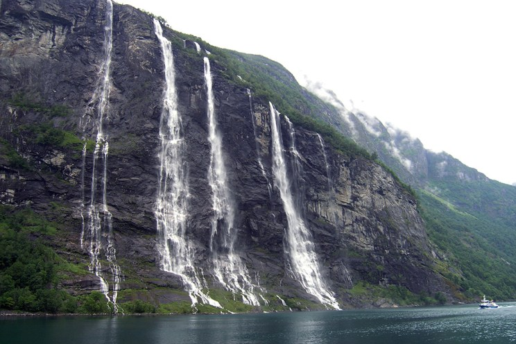 Geirangerfjord | Vodopád Sedm sester