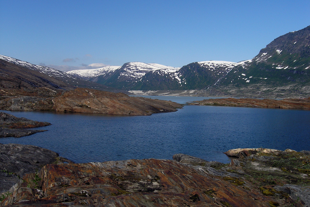 Cestou k ledovci Svartisen