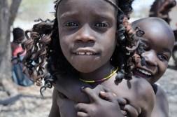 Vesnice kmene Himba