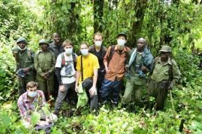 Výprava za gorilami, Kongo