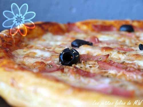 pizza maison à la pâte feuilletée