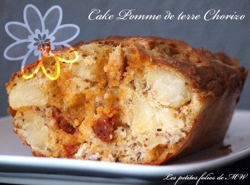 Cake pomme de terres chorizo