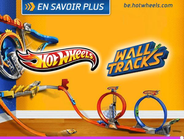 Hot Wheels - Wall Tracks Mega Set