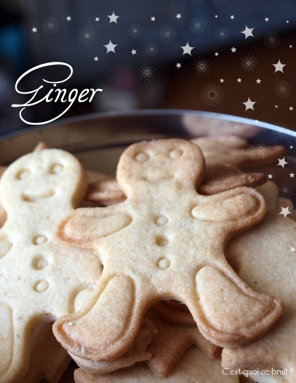 Biscuits de Noël au gingembre, les gingerbread #biscuits #sablés #gingerbread #noel