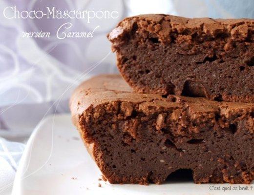 Gâteau au chocolat mascarpone