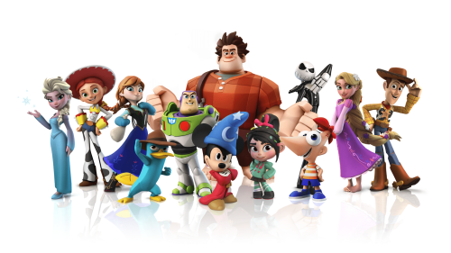Disney-Infinity-figurines