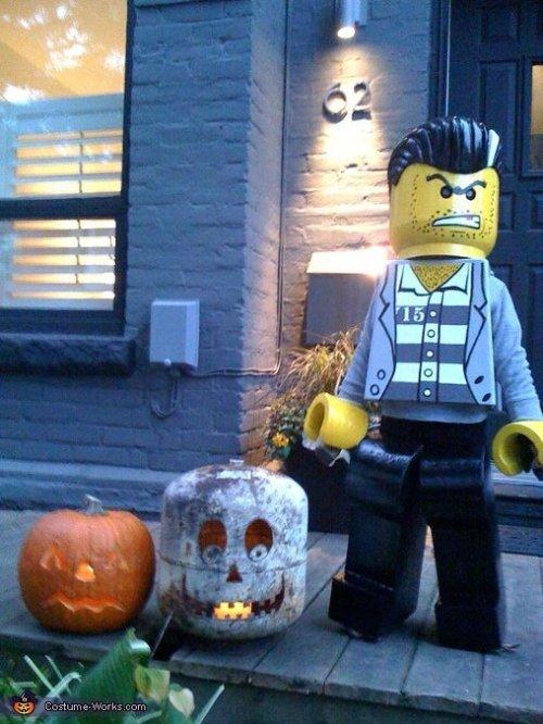 Déguisements amusants pour Halloween : Lego