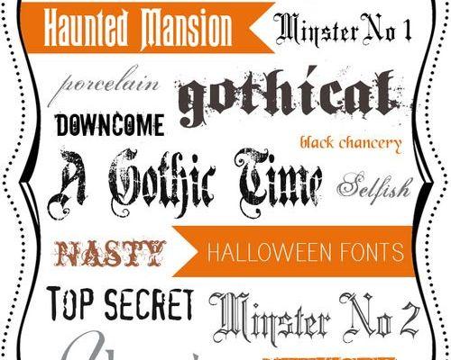 font-police-halloween