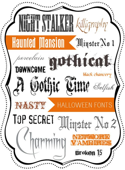 font-police-halloween
