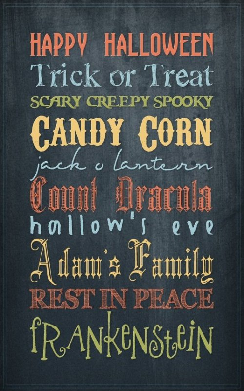 police-font-halloween