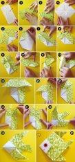 Poisson d'avril en origami DIY