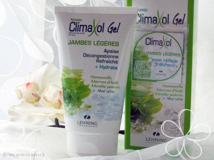 ClimaxolGel spécial jambes légères