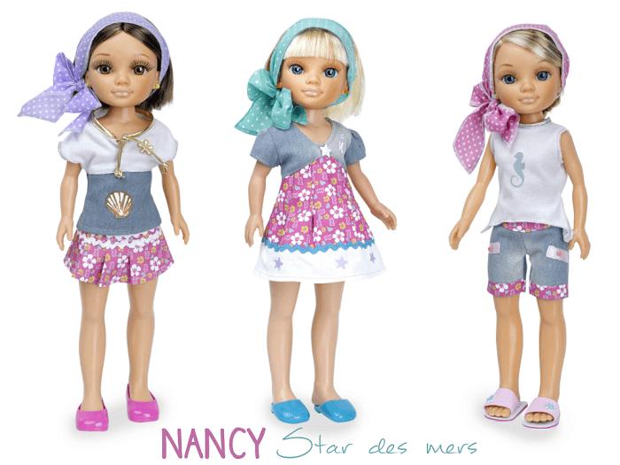 Jolie Nancy Star des mers ! poupée