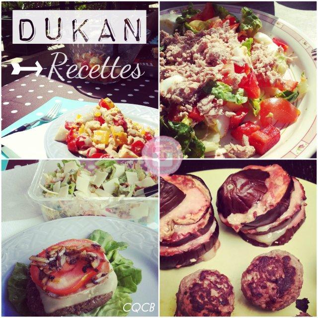 Quelques recettes Dukan