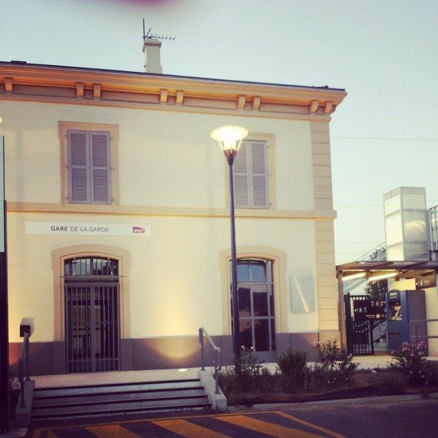 A la découverte de l'Alsace ! gare La Garde