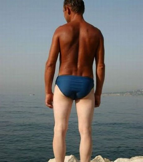 Le meilleur du pire de la plage : le bronzage raté humour
