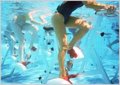 Faire du sport dans l'eau : l'aquabike