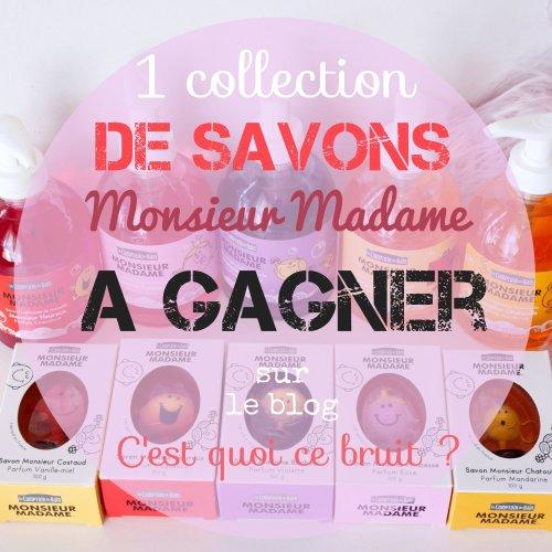 Les jolis savons de Marseille Monsieur madame
