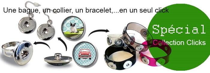 Nouvelle collection Fifi Bastille bijoux clicks