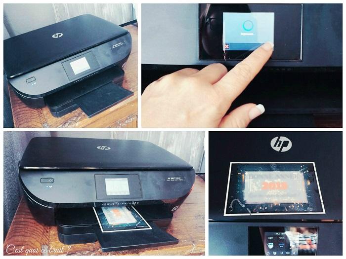 C'est encore un peu Noël avec HP imprimante