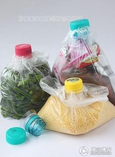 5 idées géniales pour ta cuisine : fermer les sacs plastiques