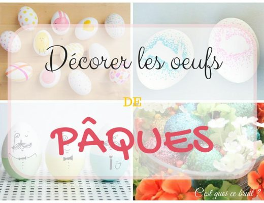 4 jolis tutos pour décorer les œufs de Pâques !