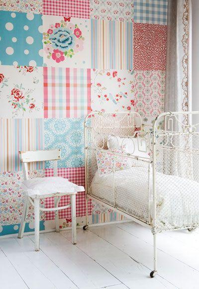 les jolies chambres de petites filles. Black Bedroom Furniture Sets. Home Design Ideas