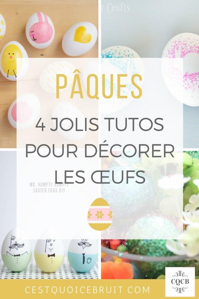 Décorer les œufs de Pâques pour amuser les enfants #paques #activités #kids #famille #DIY