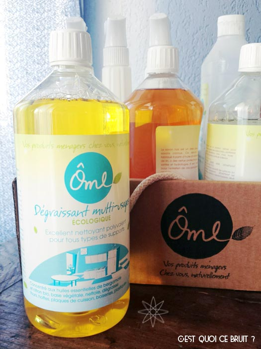 Test Ôme, les produits ménagers naturels et efficaces