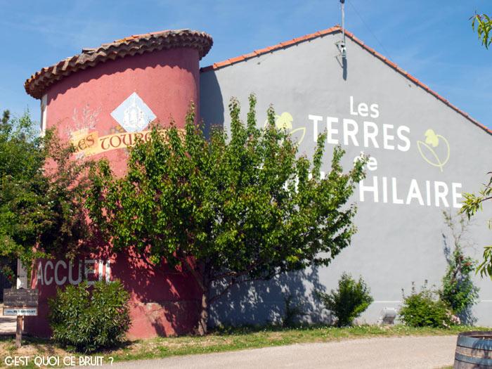 Domaine des Terres de Saint-Hilaire à Ollières dans le Var