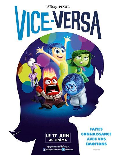 Vice-Versa de Disney Pixar, des places de ciné à gagner !