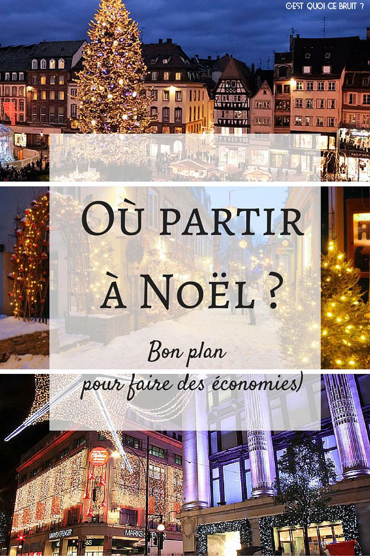 Où partir en vacances à Noël ?