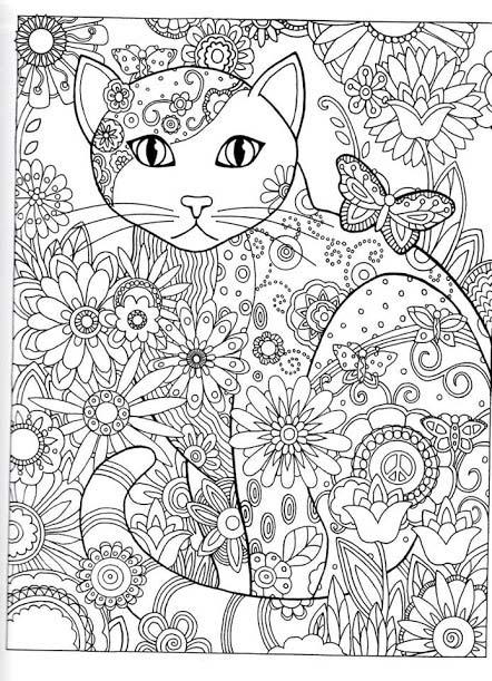 Coloriage zen anti-stress pour adulte à imprimer gratuitement