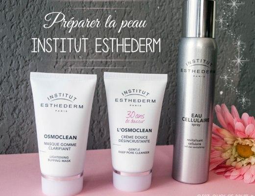 Kit pour préparer sa peau Institut Esthederm