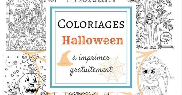 Coloriage D Halloween A Imprimer Gratuitement