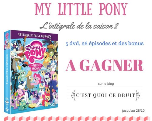 My little pony DVD