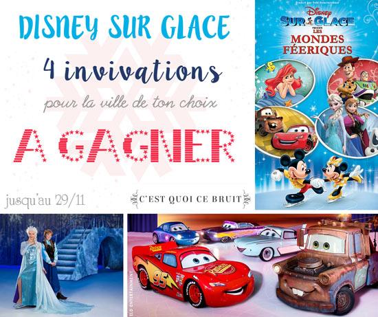 Gagne tes invitations pour Disney sur Glace les mondes féériques