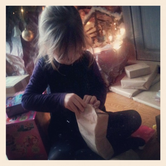 Elle ne croit plus au Père Noël