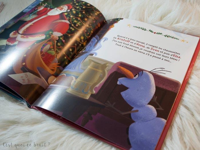 Livre Olaf la veillée de Noël