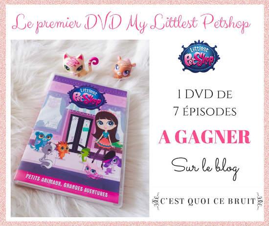 1 dvd Littlest Petshop à gagner