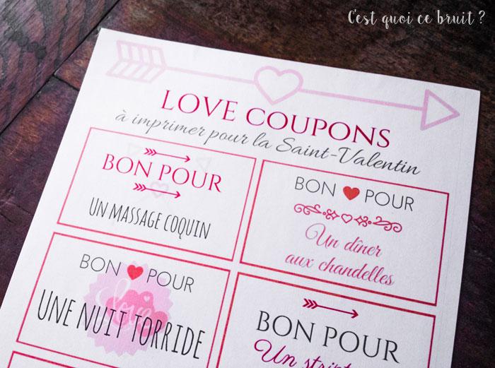 Des bons d 39 amour imprimer pour la saint valentin - Bon pour a imprimer gratuit ...