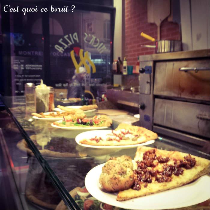 Nick's pizza, Paris