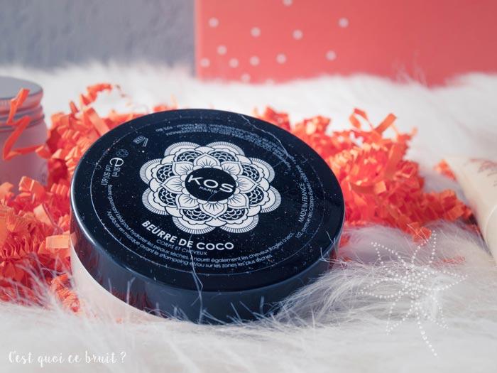Biotyfull Box Ethique d'Avril : beurre de coco